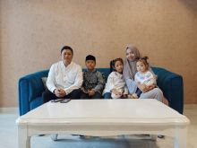 Iwan Wahyudi selalu Sediakan Waktu Buat Keluarga