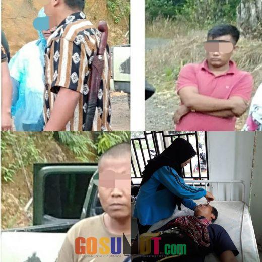 Polisi Ringkus 4 Pelaku Penganiayaan Jurnalis di Hatapang