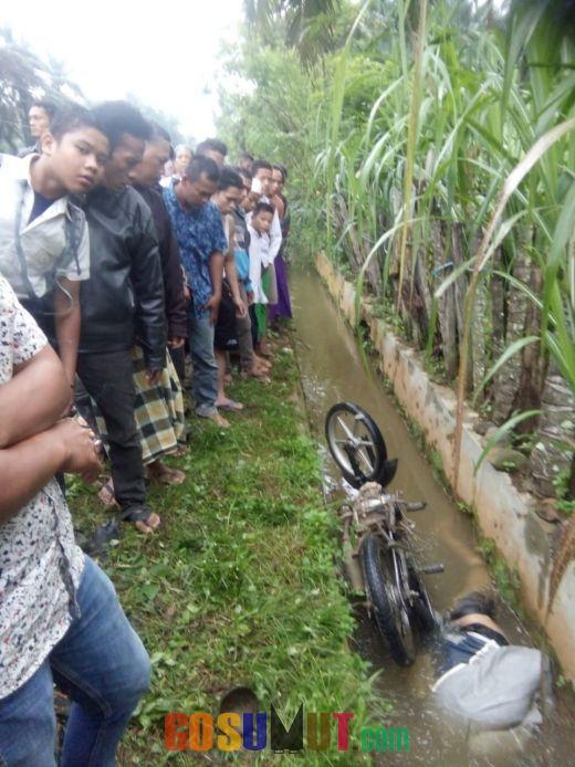 Heboh, Warga Tanjung Botung Digegerkan Penemuan Mayat dalam Parit