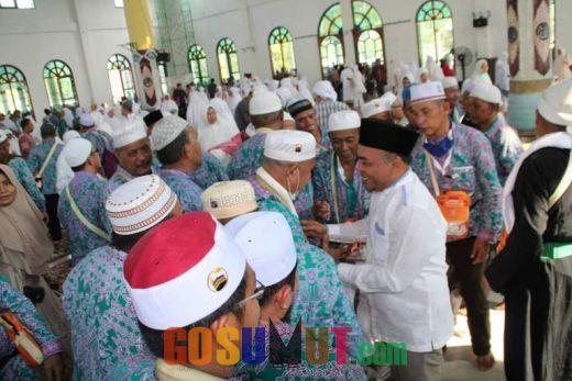Plt Bupati Sambut Kepulangan Jemaah Haji asal Labuhanbatu