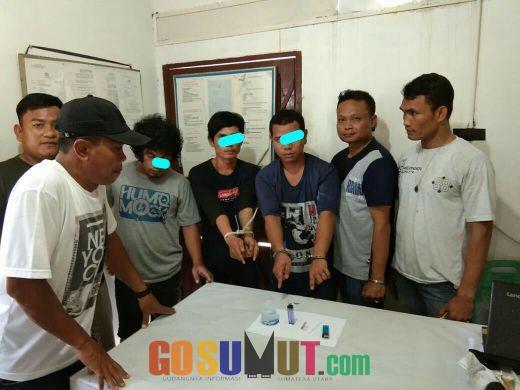 Polsek Bangun Ringkus Tiga Pria Terduga Pelaku Pengguna Narkoba