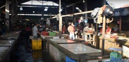 Cuaca buruk, Pedagang Ikan Stabat Sepi