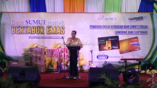 Bank Sumut Meluncurkan E-money co branding SEPP dan e-Martabe Card