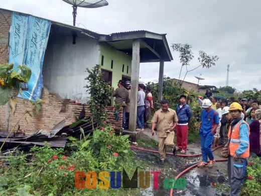 Ditinggal Kerja, Rumah Narimin Ludes Dilalap si Jago Merah