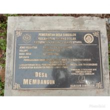 Pelaksanaan Dana Desa 2019 Di Desa Simbolon Padang Bolak Dipertanyakan