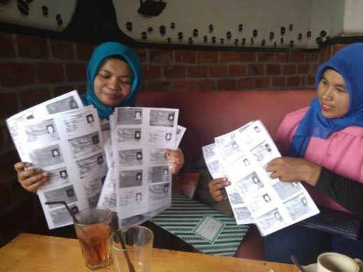 Menuju Pilkada Medan 2020, Emak-emak Serahkan Dukungannya ke Edy Ikhsan