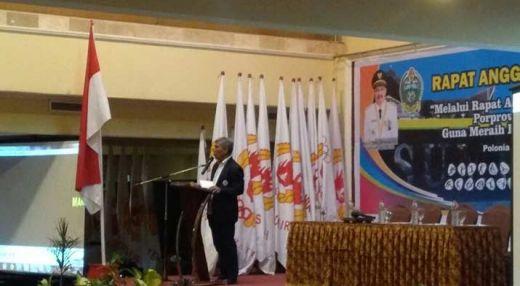 KONI Sumut Dirugikan Atas Keputusan dari PB Tuan Rumah PON 2020 Papua