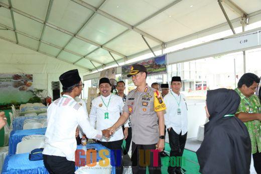 Kapolrestabes Medan Cek Kesiapan MTQN di Asrama Haji