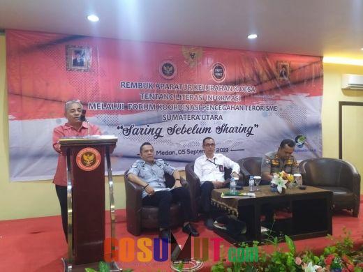 Rembuk Aparatur Tentang Literasi Informasi Digelar di Medan