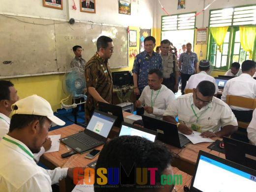 98 Balon Kades Terdiri dari Delapan Kecamatan Sergai Ikut Ujian Seleksi Metode CAT