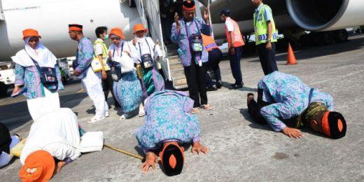 Kloter 1 Debarkasi Haji Tiba di Medan