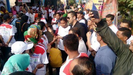 Heboh, Ada Atraksi Taekwondo di Jalan Santai PSP