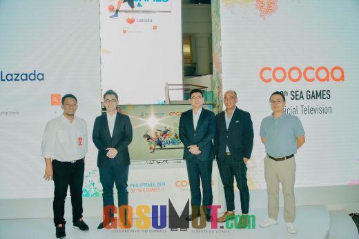 Coocaa Resmi Menjadi Sponsor Platinum SEA Games 2019