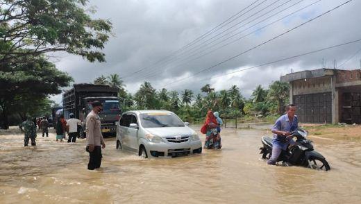 Banjir Terjang 18 Rumah dan 4 Jembatan di Aceh Timur