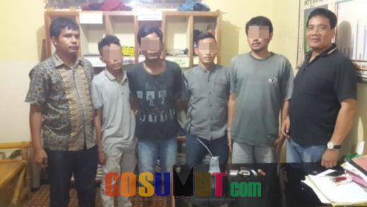 Digerebek Polisi, 4 Penyabu tak Berkutik