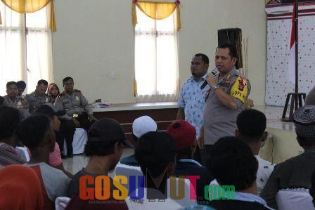 Kapolres Belawan Imbau Nelayan Tradisional Jaga Situasi