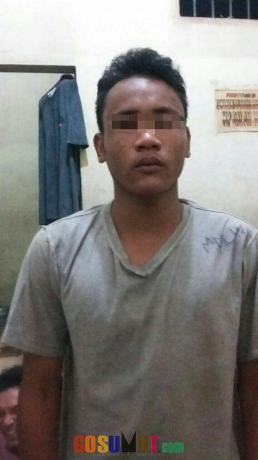 Ketahuan Mencuri, Warga Singkil ini Tidur di Polsek Sunggal