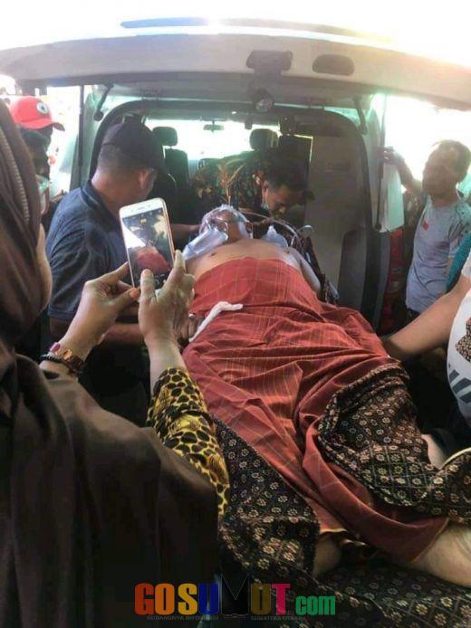 Ustad Pulungan Kritis Usai Mengalami Kecelakaan di Aek Kanopan