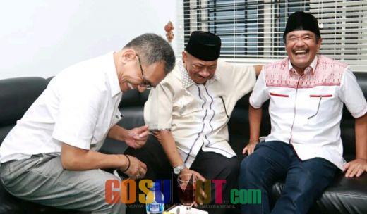 Djarot dan Sihar Terbahak-bahakDengar Guyonan Syamsul Arifin
