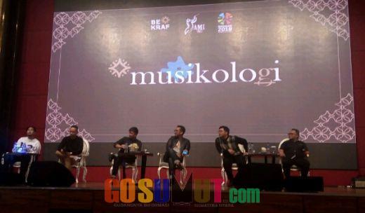 BEKRAF dan AMI Awards Gelar MUSIKOLOGI SERIES Ketiga di Medan