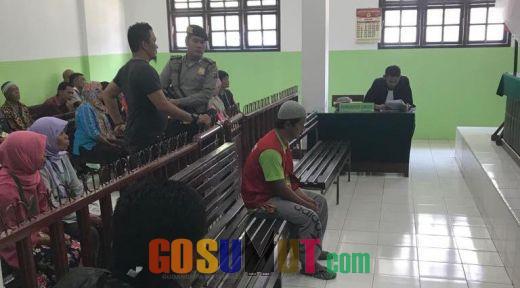 Sidang Kasus Pembantaian Pasutri di Sipirok, Jaksa Bacakan Tuntutan Terdakwa