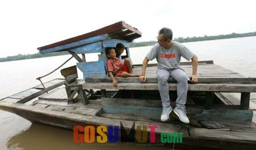 20 Tahun Warga 2 Desa di Labuhanbatu Menantikan Pembangunan Jembatan