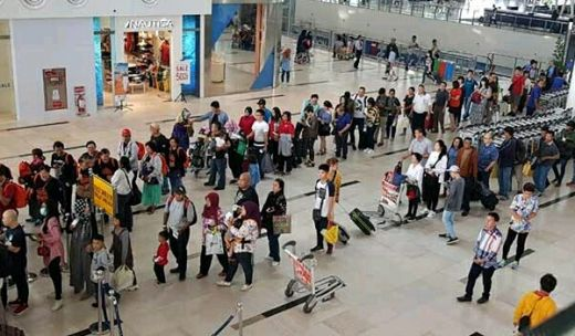 Arus mudik Tahun Ini di Bandara KNIA Alami Kenaikan 3,82 Persen