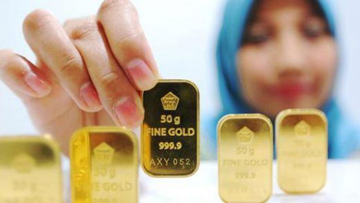 Hari Ini Harga Emas Antam Naik Rp5 000