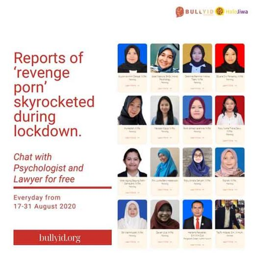 BULLYID Luncur Program Revenge Porn Help Centre Sambut HUT ke-75 RI ke