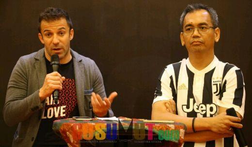 Tanggapi Aksi Teror, Del Piero: Tugas Pesepakbola Menyampaikan Pesan Perdamaian