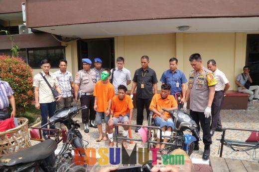 Satreskrim Polrestabes Medan Tembak 2 Pengendara Becak Hantu