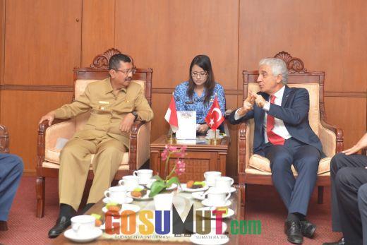 Turki Tawarkan Kerjasama Bidang Ekonomi dan Infrastruktur ke Sumut