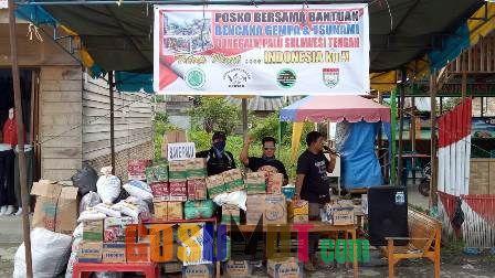 Organisasi Masyarakat Batubara Galang Dana Bantuan Tsunami Sulteng