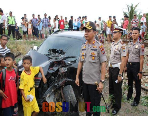 Meski Terbang Hingga 5 Meter 4 Penumpang Toyota Rush Selamat