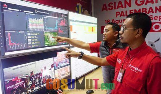 Pembukaan Asian Games, Trafik dan Payload Data Telkomsel Naik 720 %