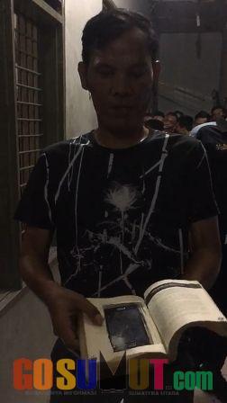 Kalapas Temukan Handphone Dibalut Buku di Kamar Dahlia