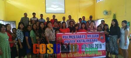 Polsek Kutalimbaru Edukasi Jemaat Gereja GPDI & GJAI Sukarende