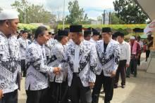 Bupati Palas: PGRI Diharapkan Mampu Ciptakan Generasi Berkompeten