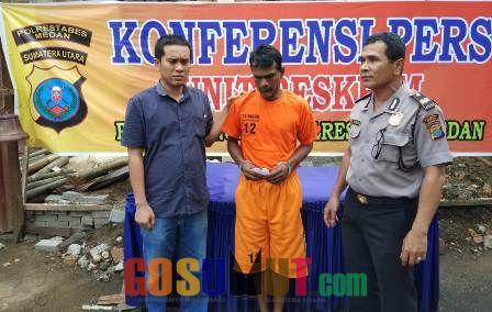 Grebek Narkoba, Polsek Sunggal Ciduk Raja di Pinangbaris