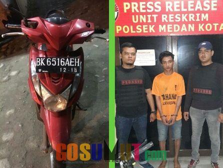 Warga Jalan Turi Ditangkap Pegasus Medan Kota