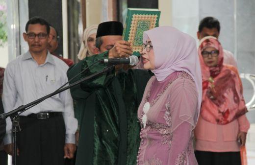 Rektor Unsyiah Lantik Dekan Fakultas Kedokteran Gigi