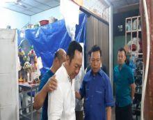 Pasca Harier Ditabrak KA di Melati Perbaungan, Kapolres Sergai Melayat Rumah Duka Korban Pasutri di Tanjung Morawa