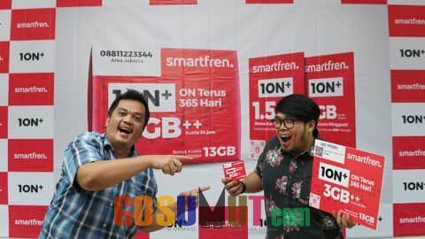 Smartfren Luncurkan Kartu Perdana Ion Plus (1ON+) untuk Bekerja dan Belajar di Rumah