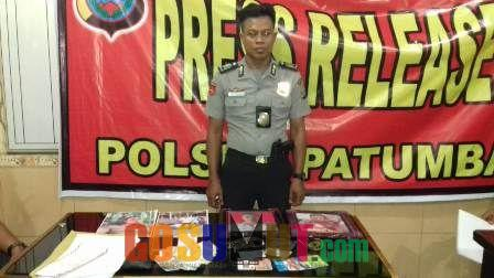 Polisi Gadungan Diringkus Tim Pegasus Polsek Patumbak