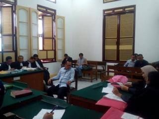 Eksepsi Ramadhan Pohan Ditolak Hakim