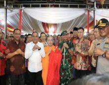 Plt Wali Kota Bersama Forkopimda Tinjau Sejumlah Vihara