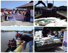 ACT Salurkan 1,5 Ton Beras Untuk Kampung Nelayan Seberang