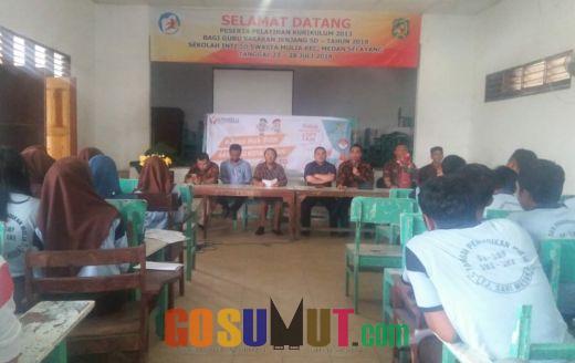 Gandeng Disdukcapil, Bawaslu Medan Goes to School Rekam E-KTP