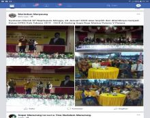 Terpilih Jadi Ketua DPRD Tobasa 2019 - 2024, Efendi Napitupulu Gelar Pesta dan Diberi Petuah Perjuangkan Hak Rakyat