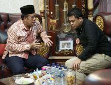 Bobby Nasution Silaturahmi ke Kediaman Ketua FKUB Medan